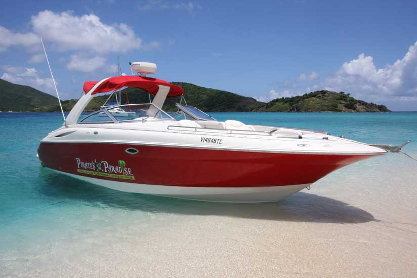 32 runabout boat rental