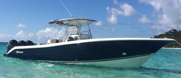 36 foot triton for rent