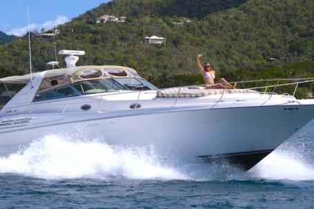 st john boat rental 45' cruiser