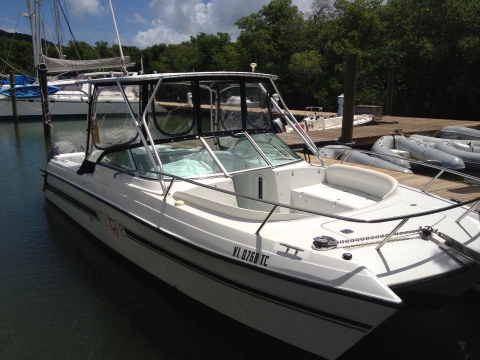 26' Power Catamaran - Beach Bum Boat Rentals  26' Power C...