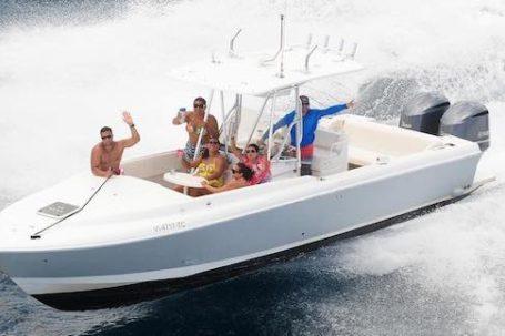 32 intrepid beach bum boat rentals