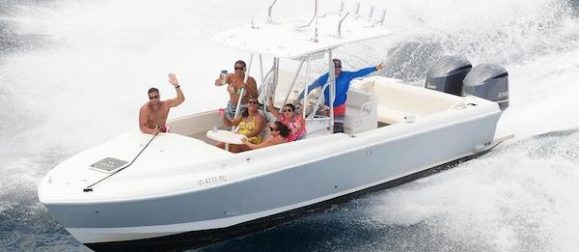 32 intrepid beach bum boat rentals