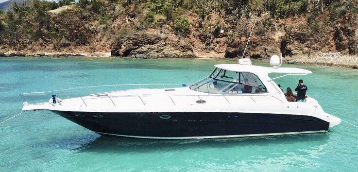 50' Sea Ray Express Cruiser - Beach Bum Boat Rentals