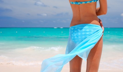 Tortola Beach Girl